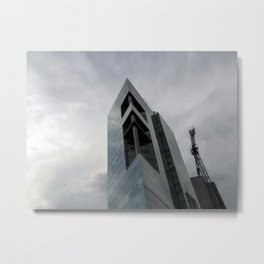 Rising Monsters in the City Metal Print