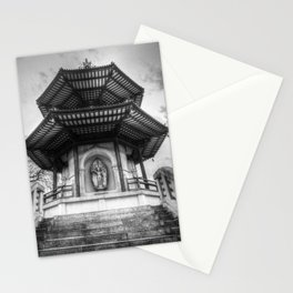 The Pagoda Battersea Park London Stationery Cards