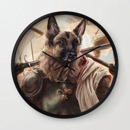 Joan of Bark Wall Clock