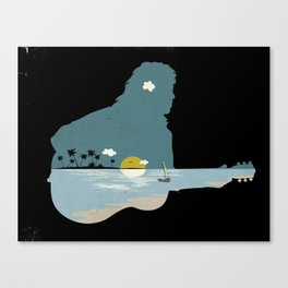 lonely song Canvas Print