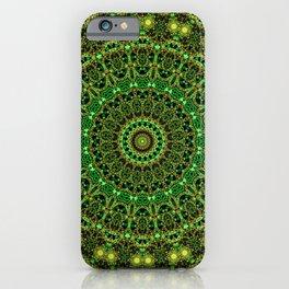 Forest Light Mandala iPhone Case