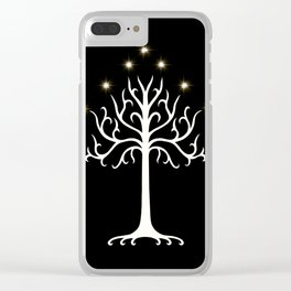 The White Tree of G Clear iPhone Case