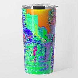 """Rainy Day City"" Travel Mug"