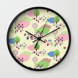 Sweet Land Wall Clock