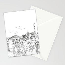 Minimal Line Settlement 3 Stationery Cards