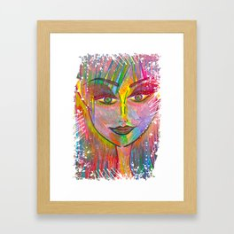Life is Tough, My Darling, But So Are You. Framed Art Print