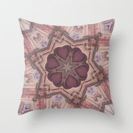 Hearts (from the Bom Jesus Church in Old Goa) Throw Pillow