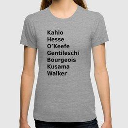 womxn artists T-shirt