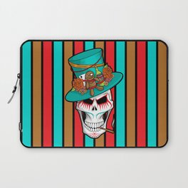 Day of the Dead Voodoo Lord Laptop Sleeve