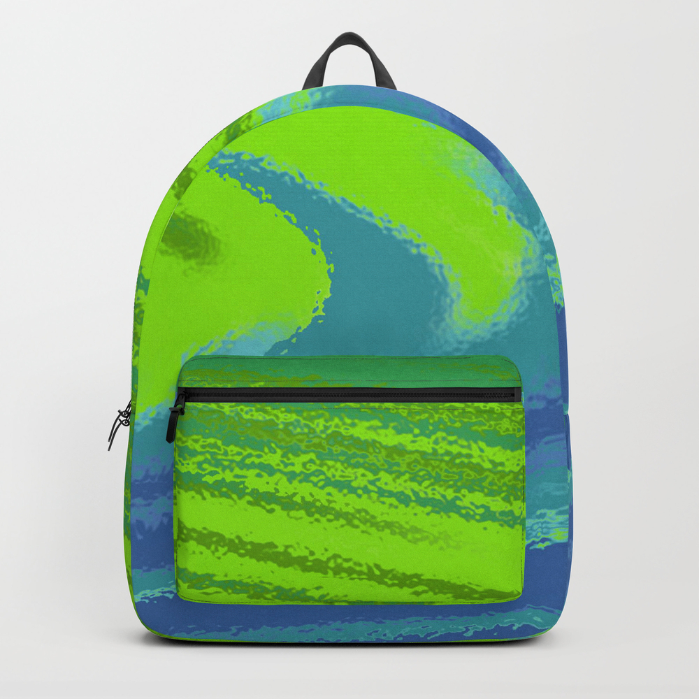 Water Of Color Backpack by Ronalddevries BKP7772409