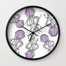 Sea-life Collection - Jellyfish Wall Clock