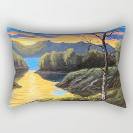 "Psalm 46:10 ""Be still and know that I am God..."" Rectangular Pillow"