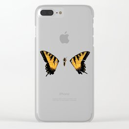 Brand New Eyes Butterfly Clear iPhone Case