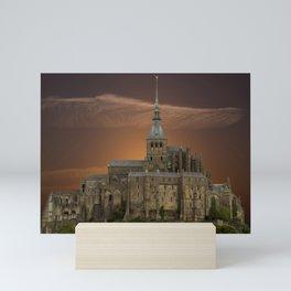 Mont-Saint-Michel Mini Art Print