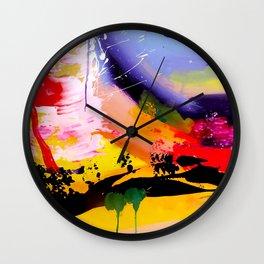 Hillside Ocean View Wall Clock