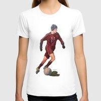 soccer T-shirts featuring Soccer by Karen Pettengill