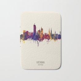 Vienna Austria Skyline Bath Mat