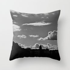 The Lonely Cloud Throw Pillow