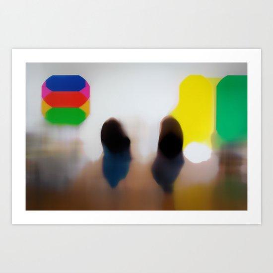 Visitation (study) Art Print