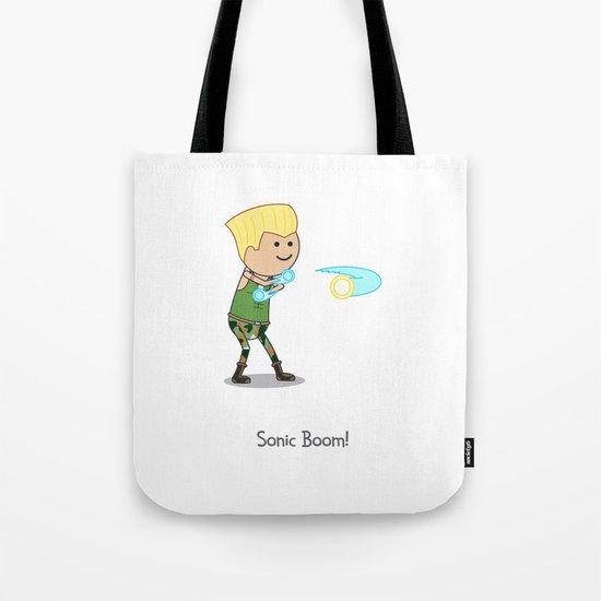 Sonic Boom! Tote Bag