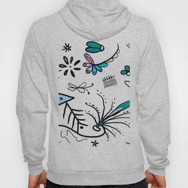 Twiggy pop garden Hoody