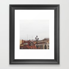 Calle Mayor Framed Art Print