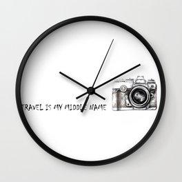 Passenger Wall Clock