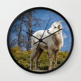 Waiting at the Top Wall Clock