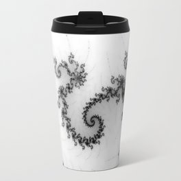 detail on mandelbrot set - pseudopod Travel Mug