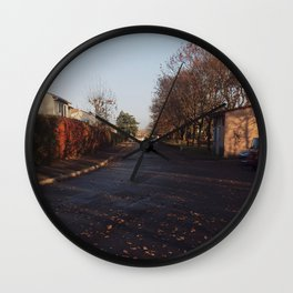 On the Road 1 Wall Clock