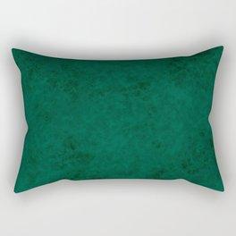 Green suede Rectangular Pillow