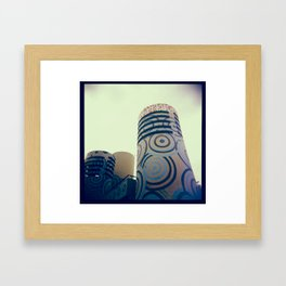 Ibirapuera park Framed Art Print