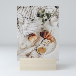 Breakfast In Bed Mini Art Print