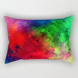 Explosive colors Rectangular Pillow