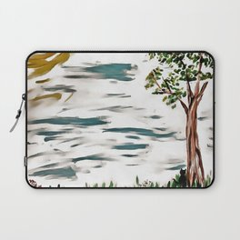 First Day of Fall Laptop Sleeve