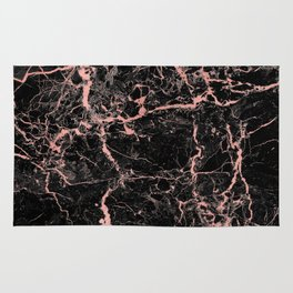 Marble Rose Gold - Someone Rug