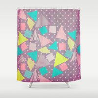 candy Shower Curtains featuring Candy by Louise Machado
