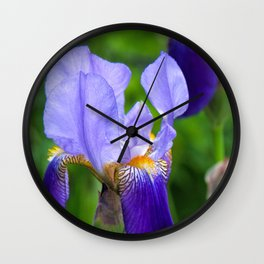Iris Parade Wall Clock