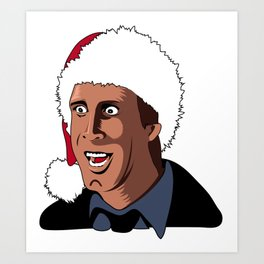 Clark Griswold Christmas Vacation Art Print