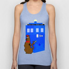 Doctor Scooby-Who Unisex Tank Top