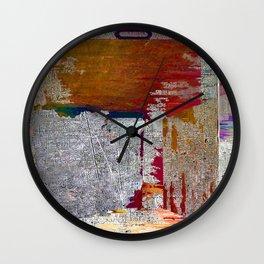 Abstract Fashion Gift Tee Shirt Art Lover Wall Clock