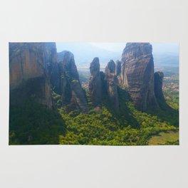 Meditation up to Meteora | Greece | Nature Rug