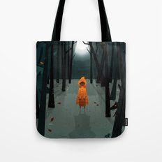 Woods Girl Tote Bag