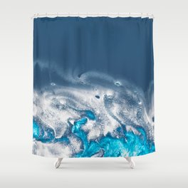 OCEAN AND WEAVES Shower Curtain