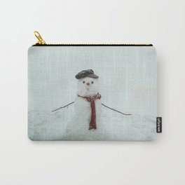 Melting snowman Carry-All Pouch