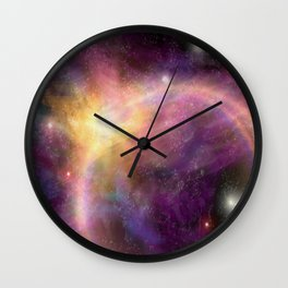 Nebula VI Wall Clock