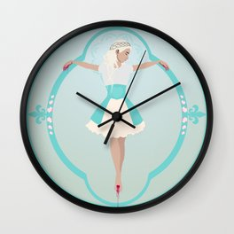 Modernist Martyr Wall Clock