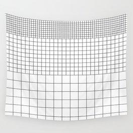 Grid v1 Wall Tapestry