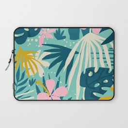 Not All Those Who Wander Are Lost #painting #tropical Laptop Sleeve