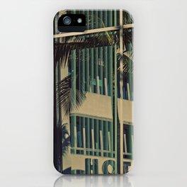 HOTEL ALWAYS iPhone Case